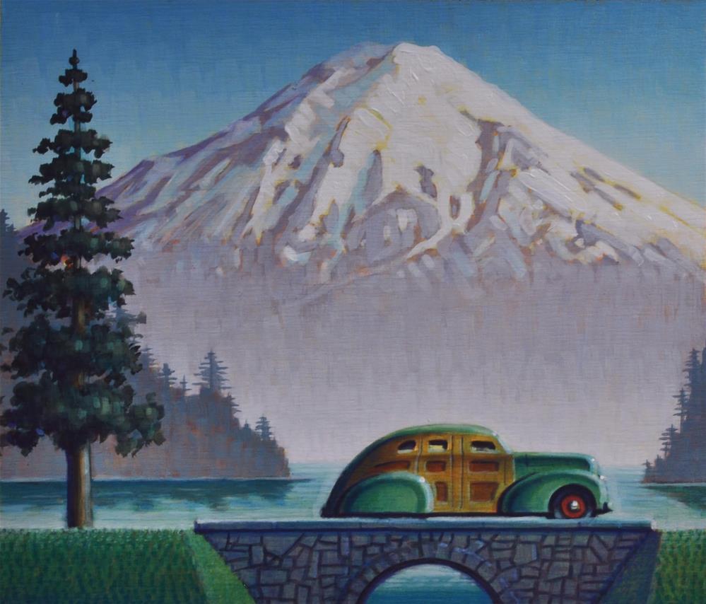 """Winter"" original fine art by Robert LaDuke"