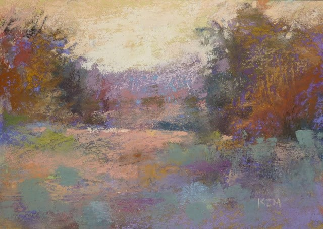 """How to Display Pastel Paintings without Frames"" original fine art by Karen Margulis"