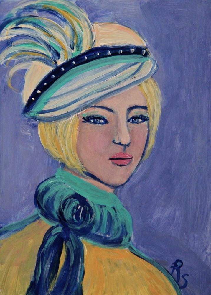 """Clarissa"" original fine art by Roberta Schmidt"