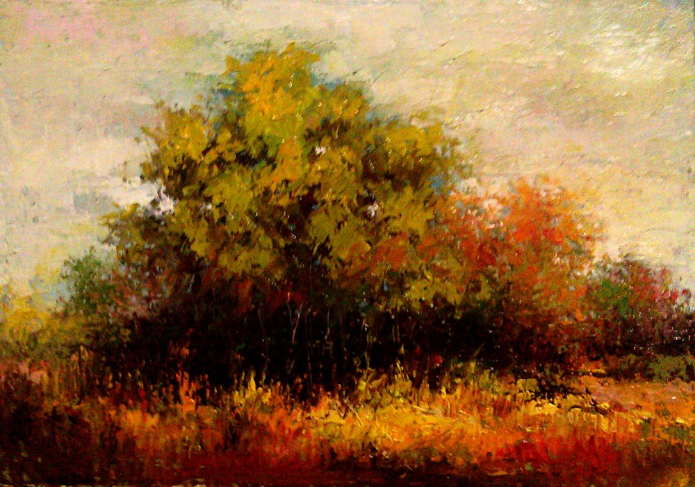 """Southwest Desert Patch"" original fine art by Bob Kimball"