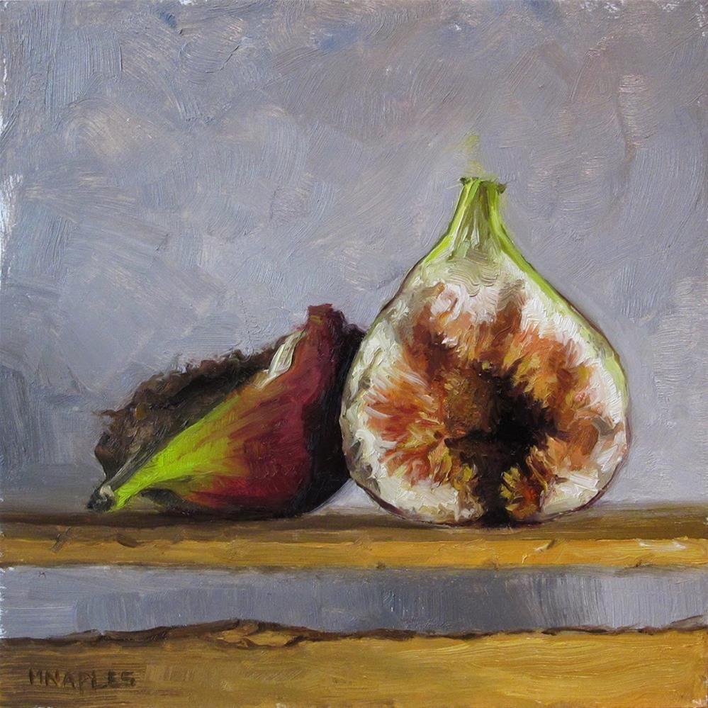 """""""Split Fig"""" original fine art by Michael Naples"""