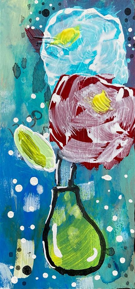 """""""Coexist"""" original fine art by Kali Parsons"""