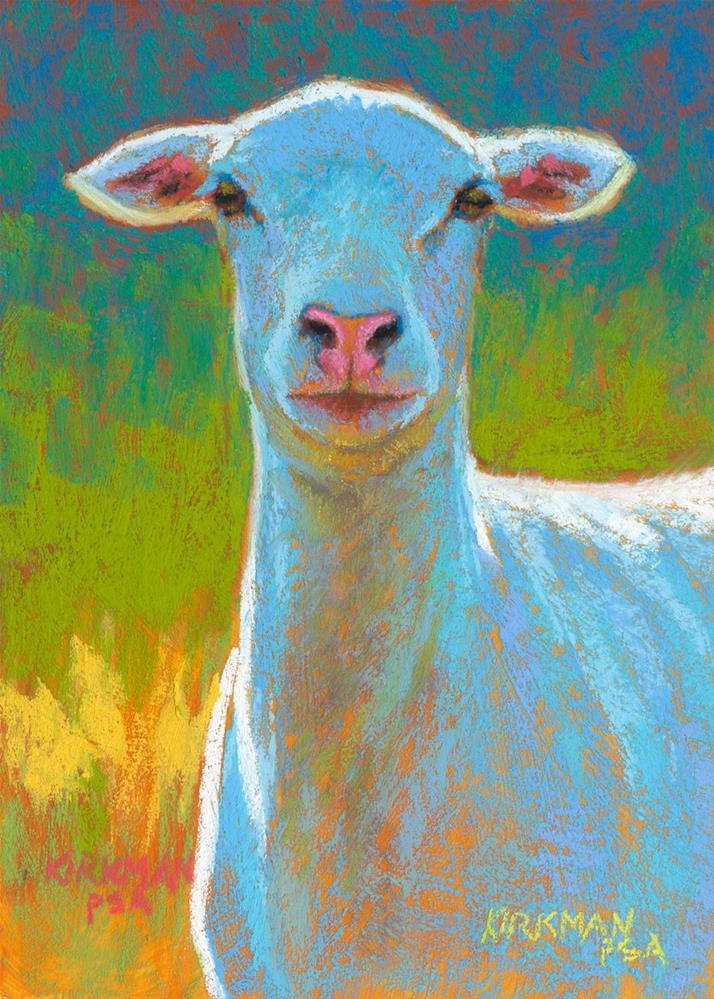 """Alva"" original fine art by Rita Kirkman"