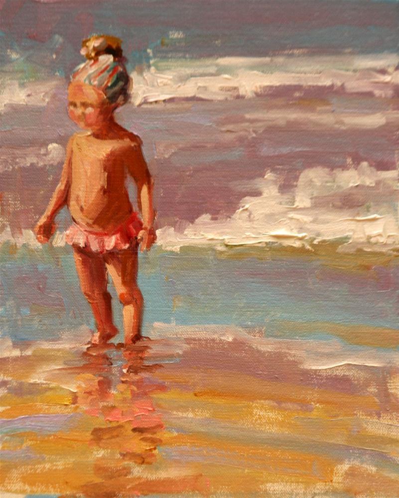 """winner"" original fine art by Carol Carmichael"