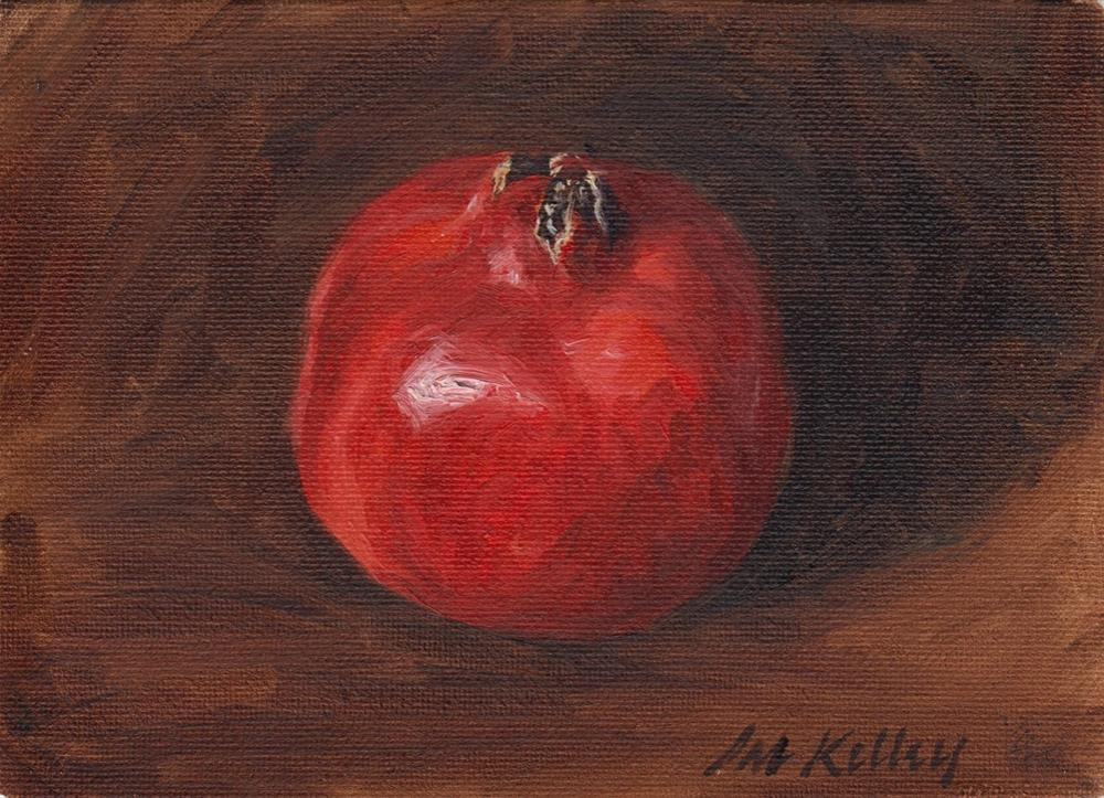"""Pomegranate Study"" original fine art by Pat Kelley"