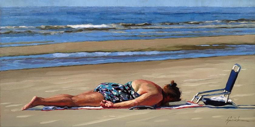 """Surrender"" original fine art by Karin Jurick"