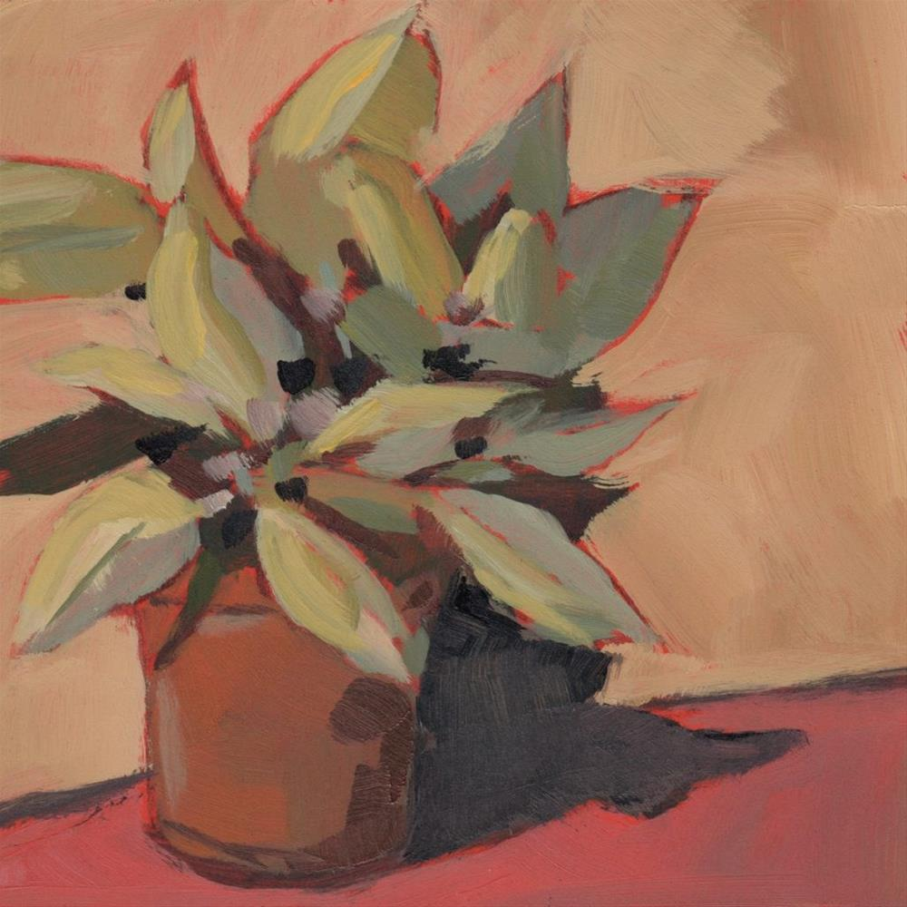 """0300: Final Poinsettia"" original fine art by Brian Miller"