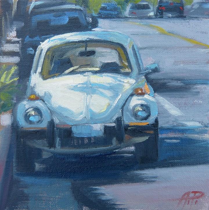 """Sunny Bug"" original fine art by Anette Power"