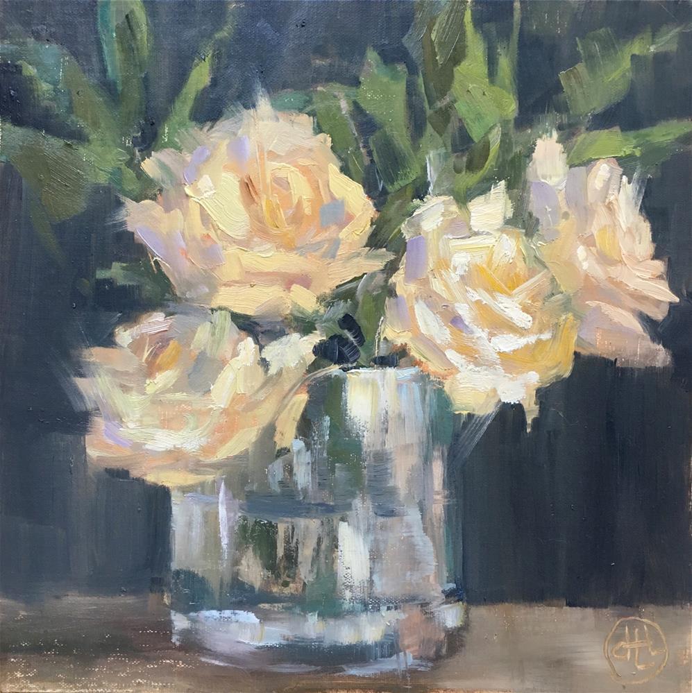 """""""four to go"""" original fine art by Dottie  T  Leatherwood"""