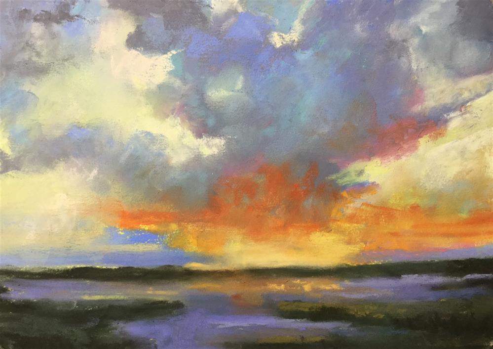 """Glory days"" original fine art by Jan Hutchinson"