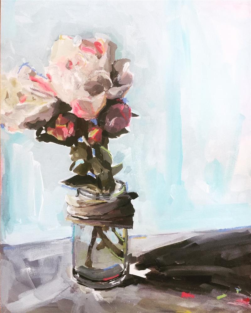 """507 Jar of Beauties"" original fine art by Jenny Doh"
