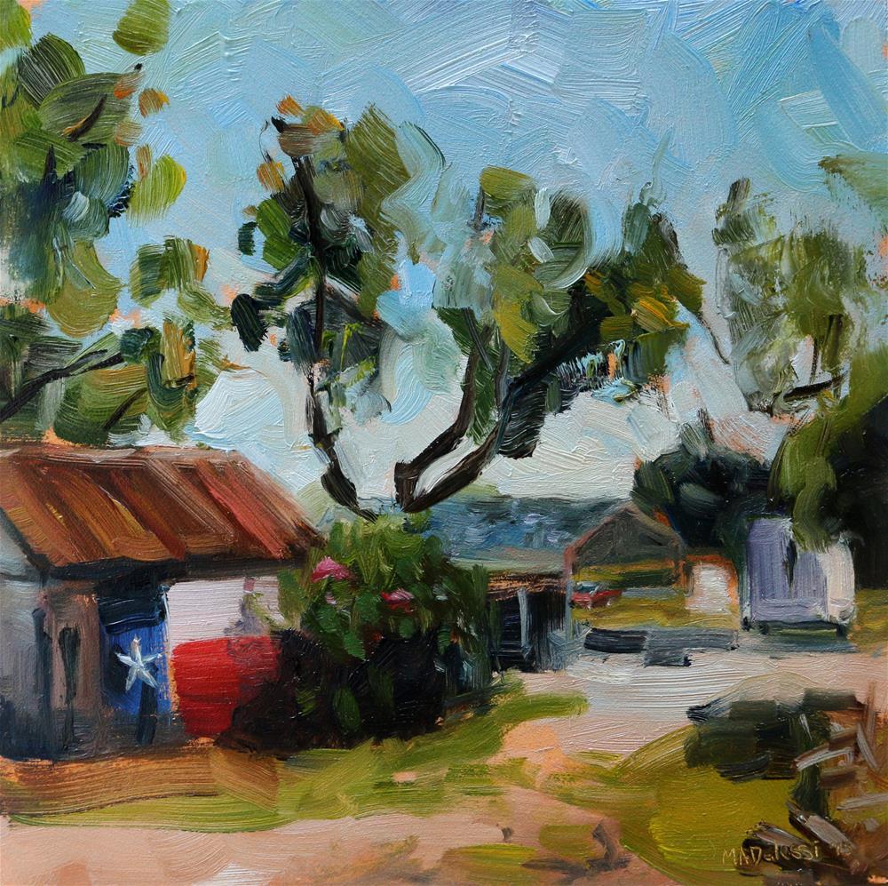 """Along the road"" original fine art by Miranda Dalessi"