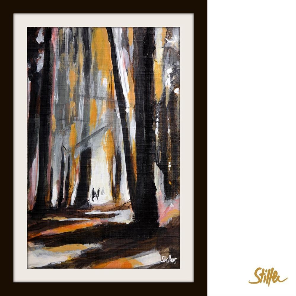 """""""3660 Woodland Miniature"""" original fine art by Dietmar Stiller"""