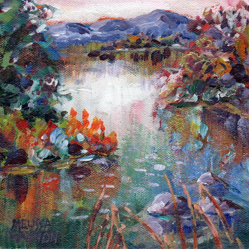 """River Path"" original fine art by Melissa Gannon"