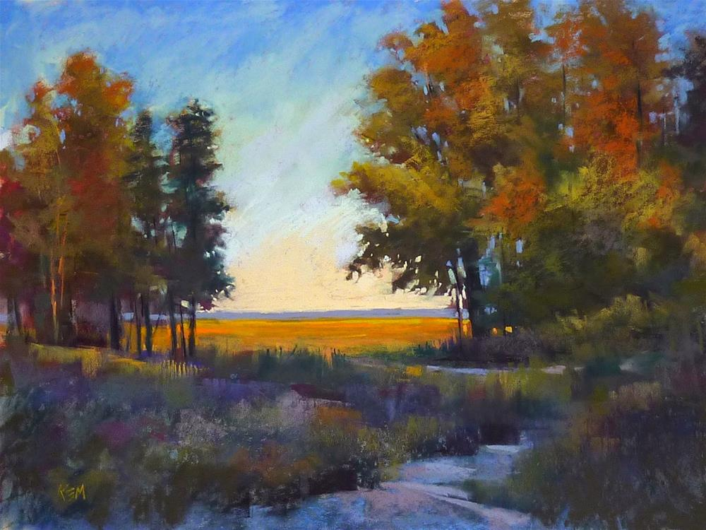 """""""Why Your Wipes Should be 10 Feet Behind You"""" original fine art by Karen Margulis"""