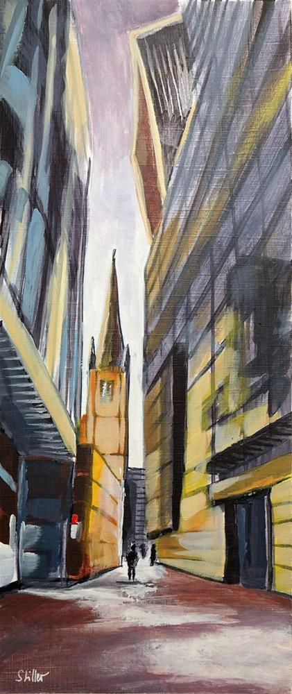 """2716 London City 2"" original fine art by Dietmar Stiller"