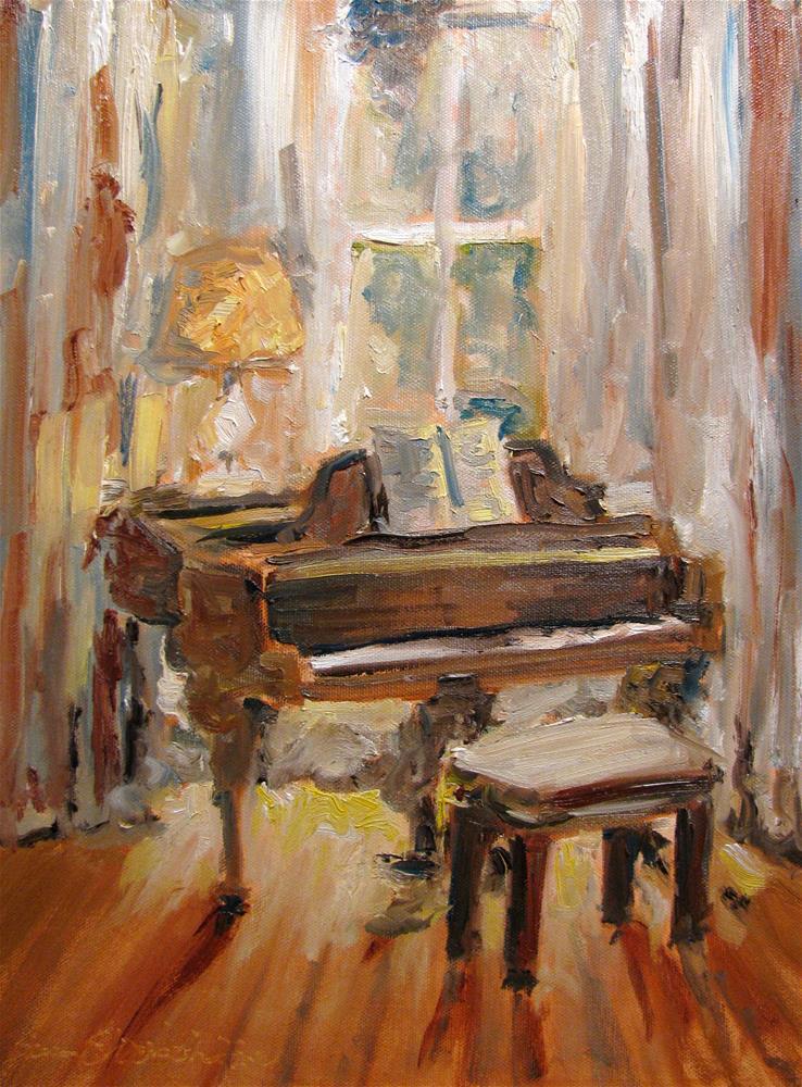 """""""Feeling Grand"""" original fine art by Susan Elizabeth Jones"""