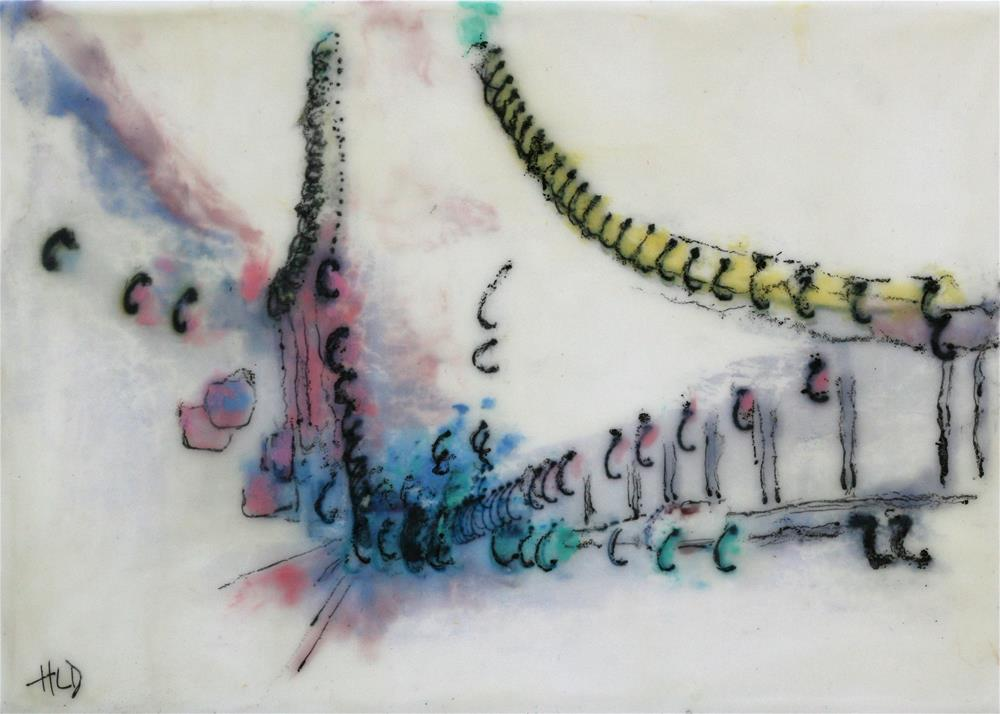 """Inverted Bridge"" original fine art by Heather Douglas"