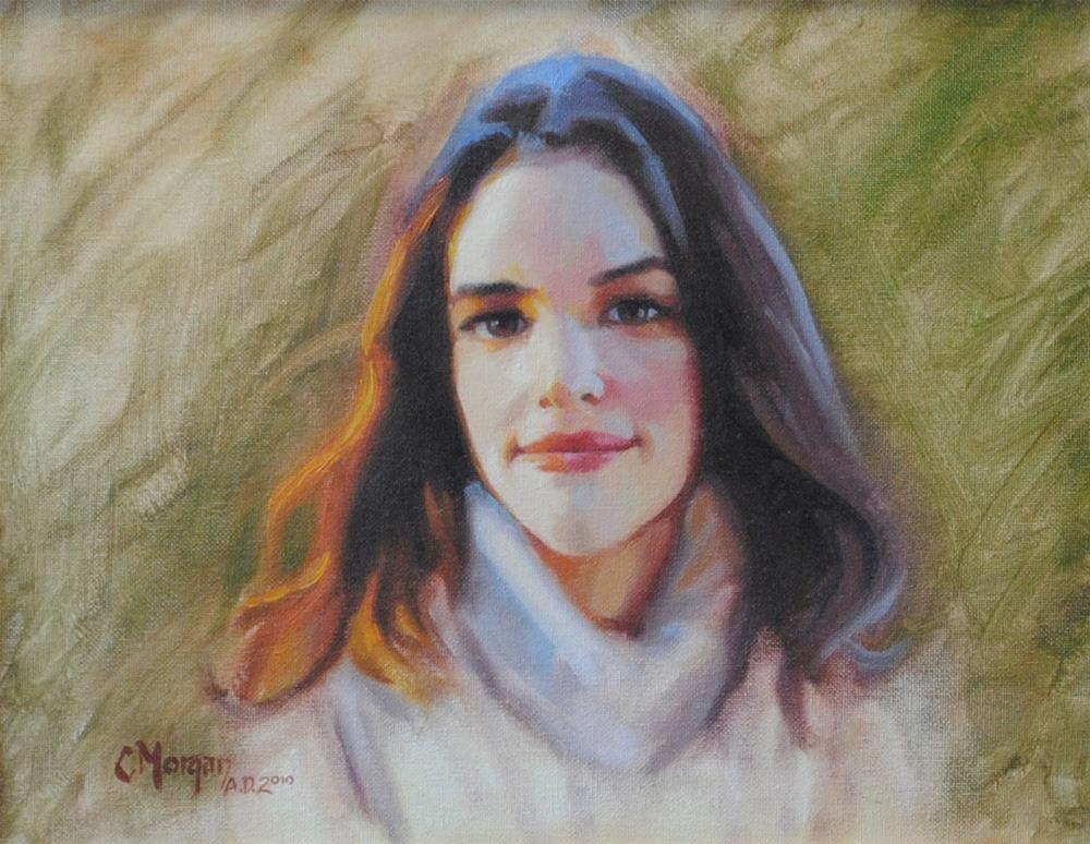 """Faith"" original fine art by Cecile W. Morgan"