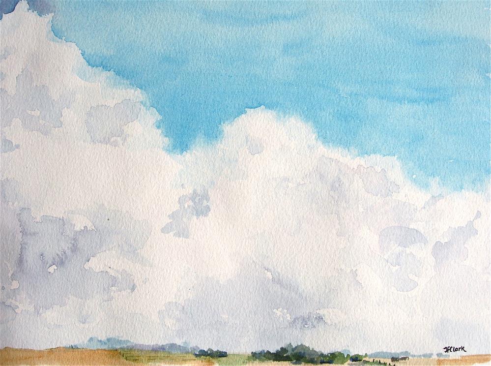 """""""Prairie Spring"""" original fine art by Judith Freeman Clark"""