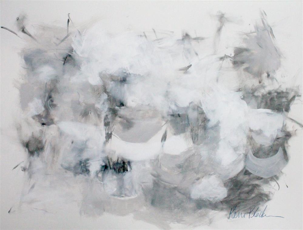 """Every Cloud Has a Silver Lining"" original fine art by Kerri Blackman"