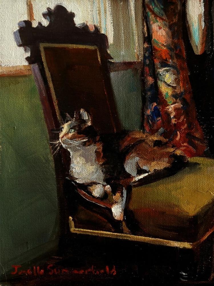 """Bird Watching"" original fine art by Jonelle Summerfield"
