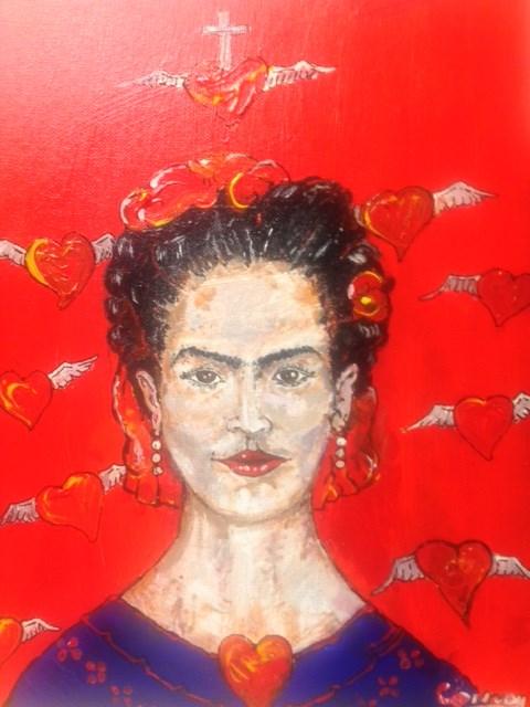 """Frida K"" original fine art by mark convoy"