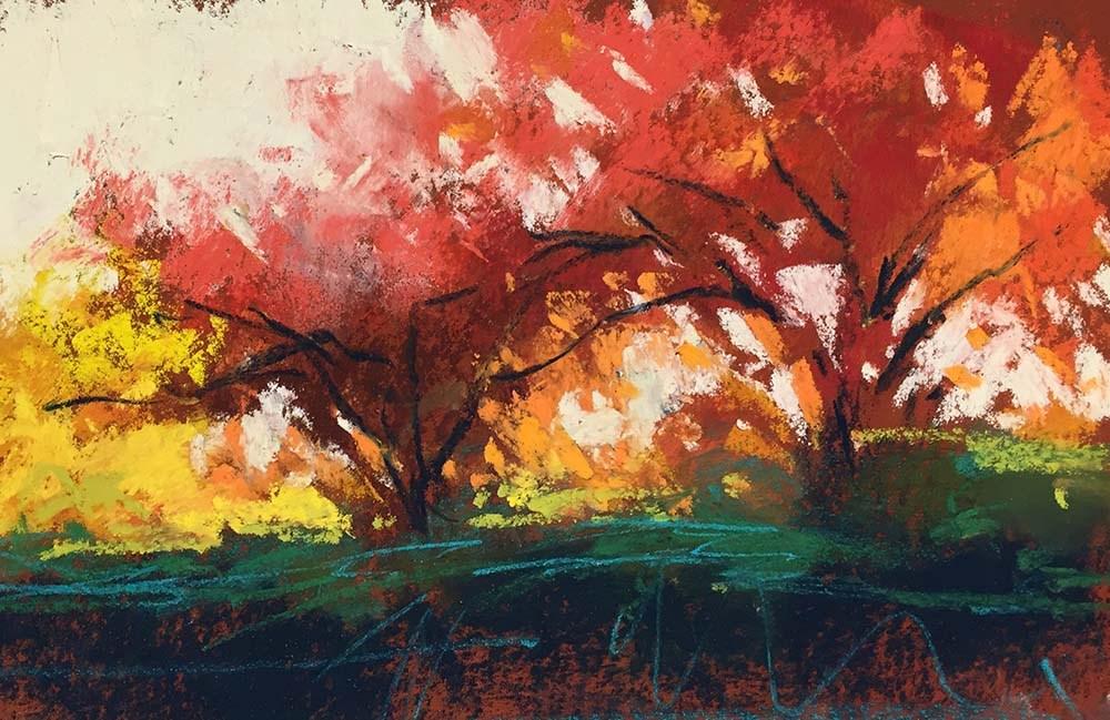 """Ready for Red"" original fine art by Marla Baggetta"