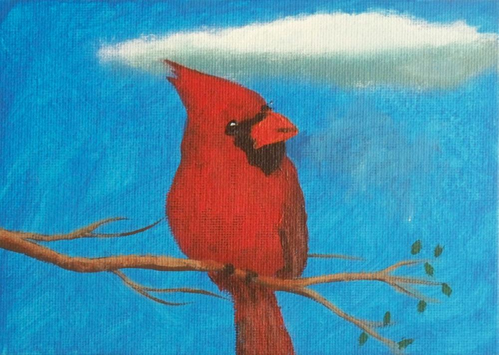 """""""Are You Looking At Me?"""" original fine art by Dave Casey"""