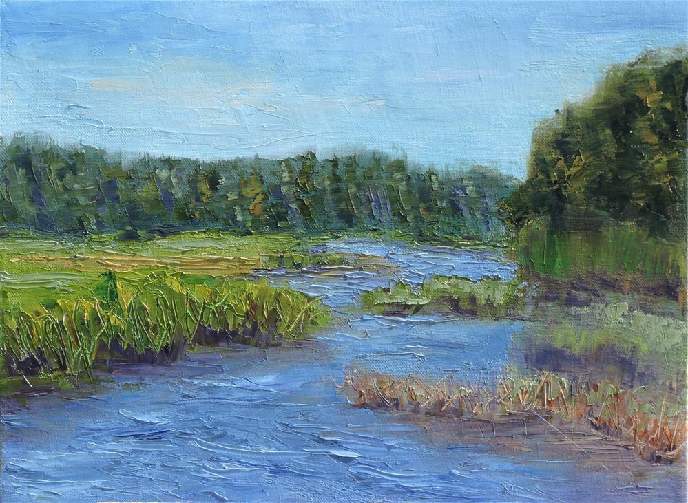 """Quiet Morning"" original fine art by Linda mooney"