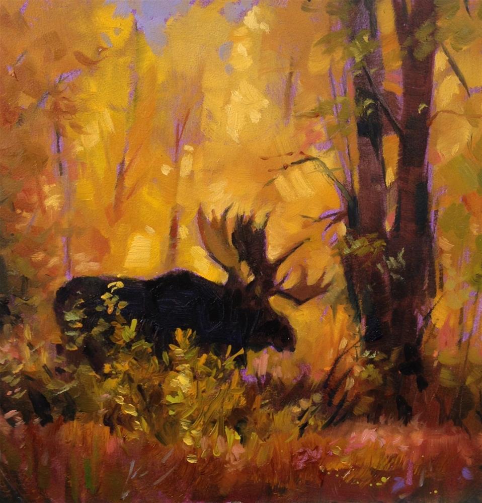 """Solitude"" original fine art by Krista Eaton"