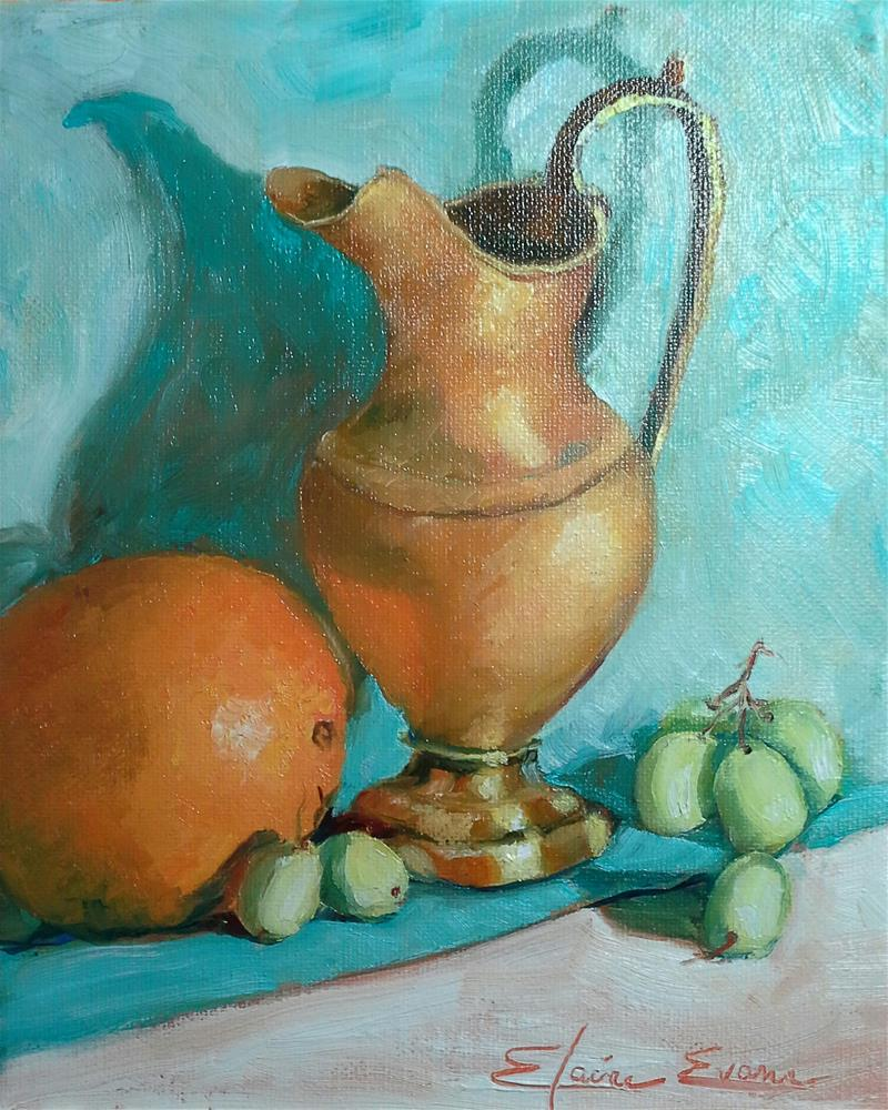 """Still Life"" original fine art by Elaine Evans"