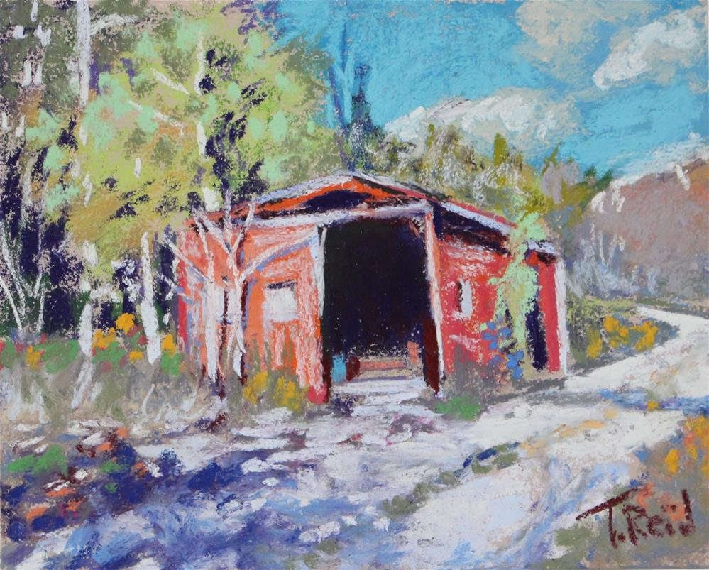 """Abandoned Shed"" original fine art by Toby Reid"