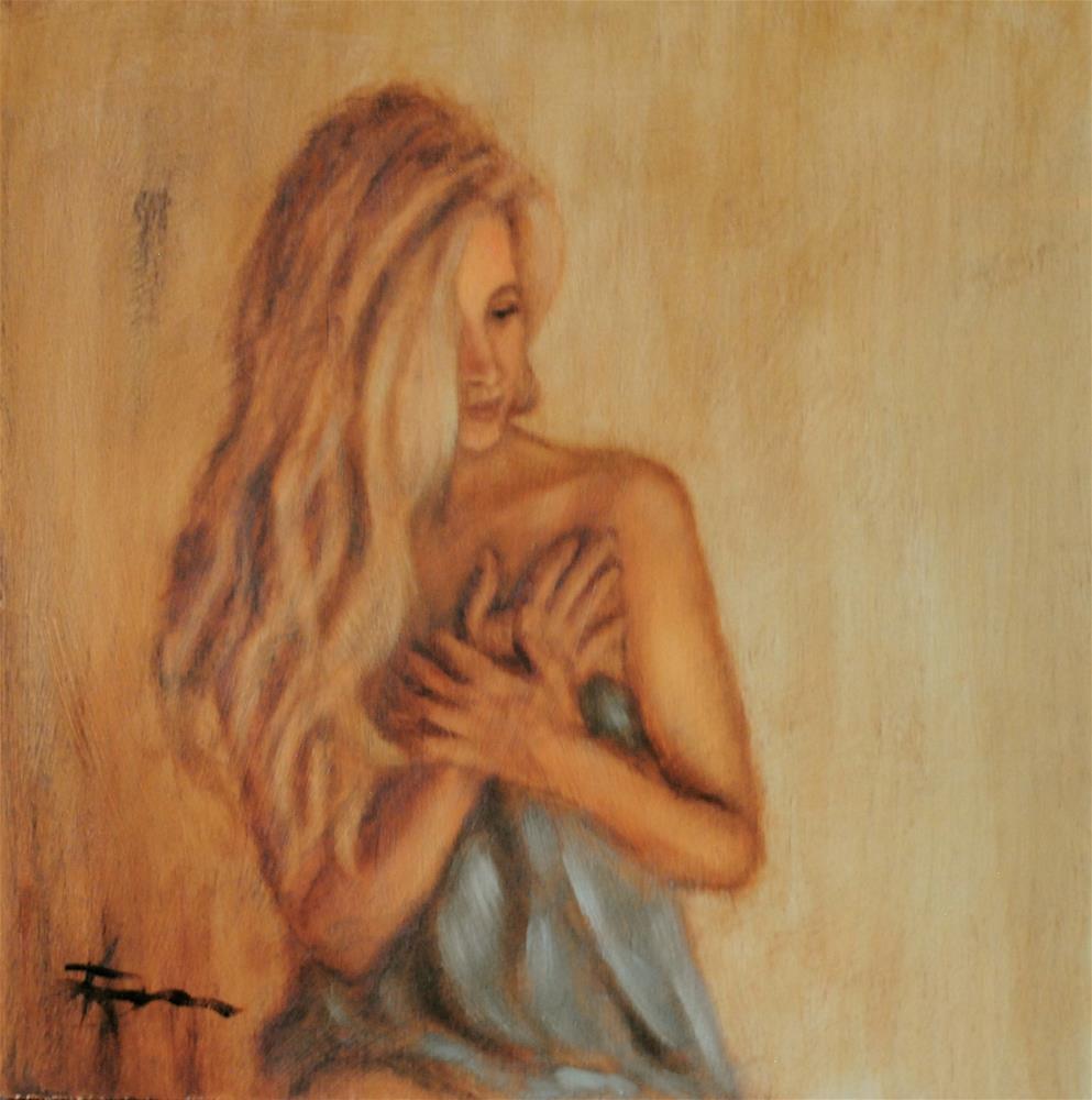 """Cherish"" original fine art by Kelly Berkey"