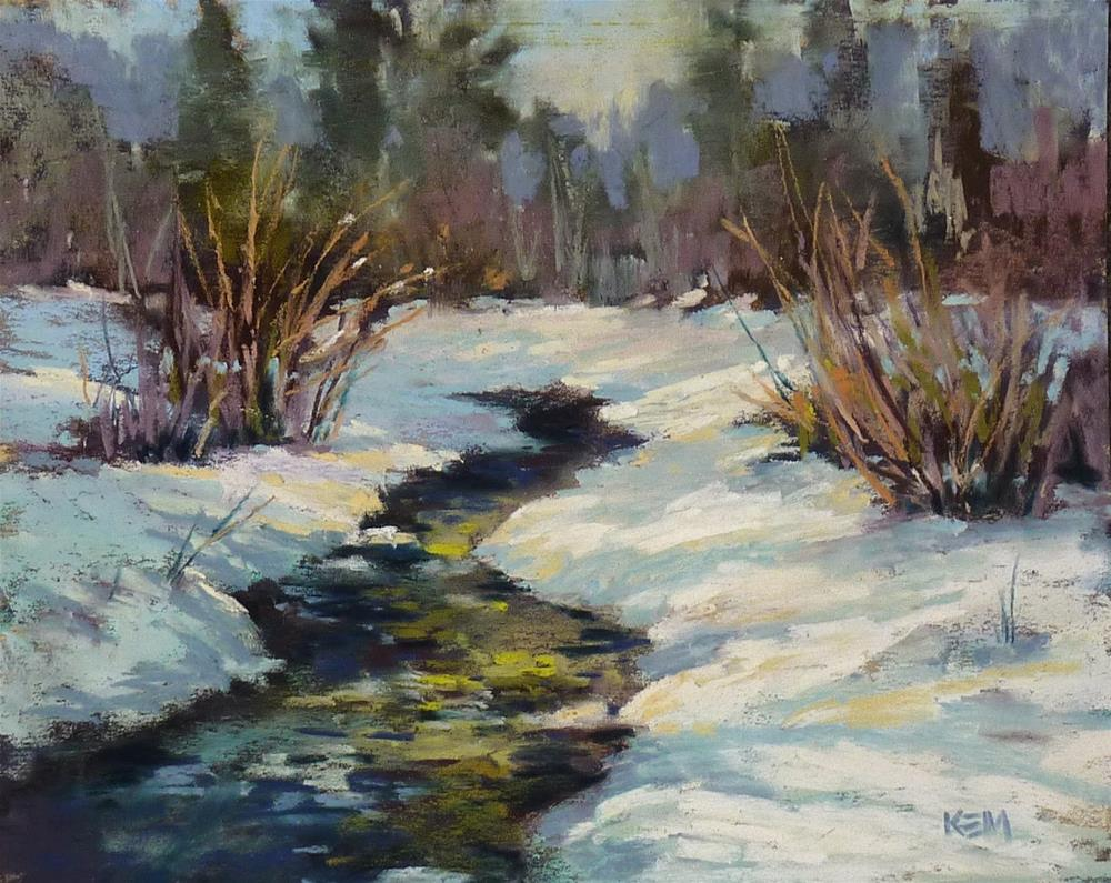 """Painting with White Pastels: A Tip for Success"" original fine art by Karen Margulis"