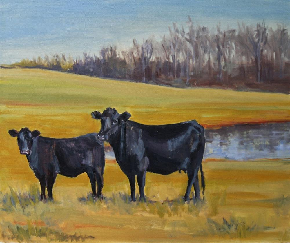 """family ties"" original fine art by Carol Carmichael"