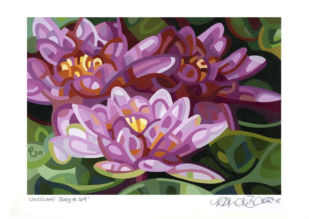 """Landscape Study #64"" original fine art by Mandy Budan"