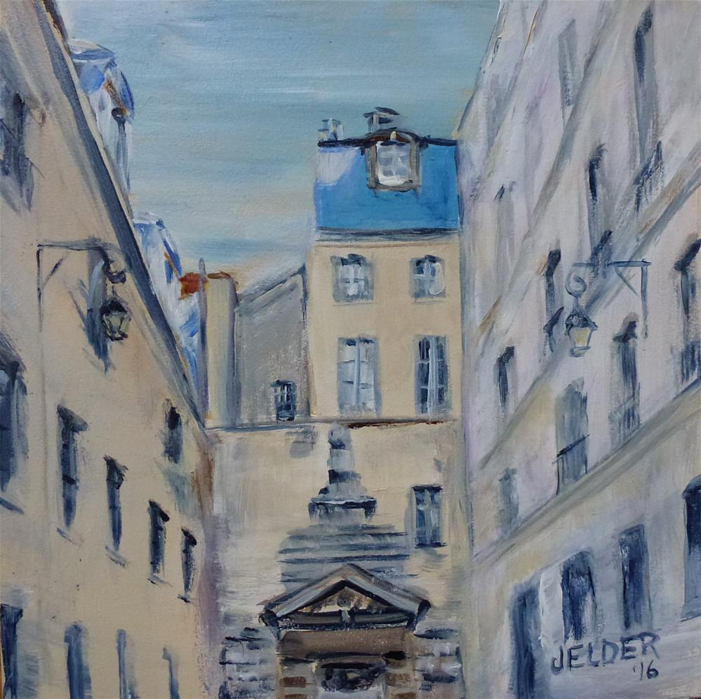 """Paris No. 101"" original fine art by Judith Elder"