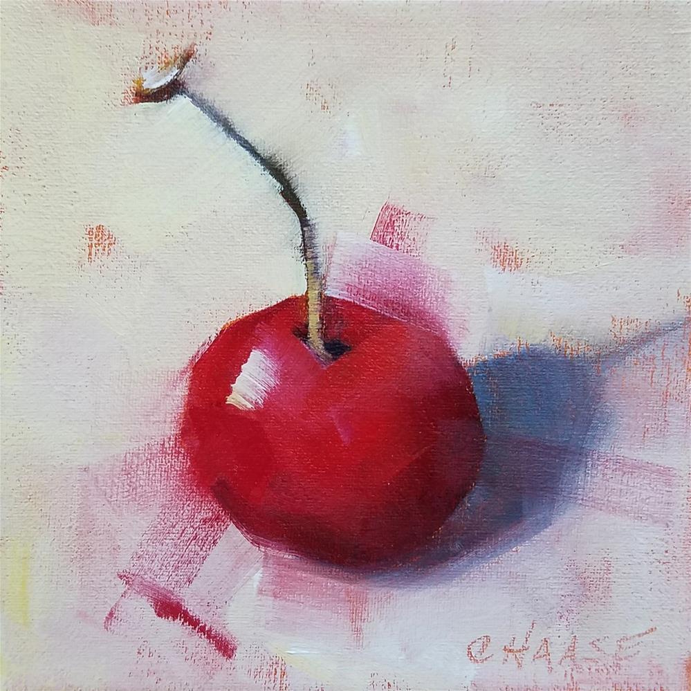 """""""Cherry"""" original fine art by Cindy Haase"""