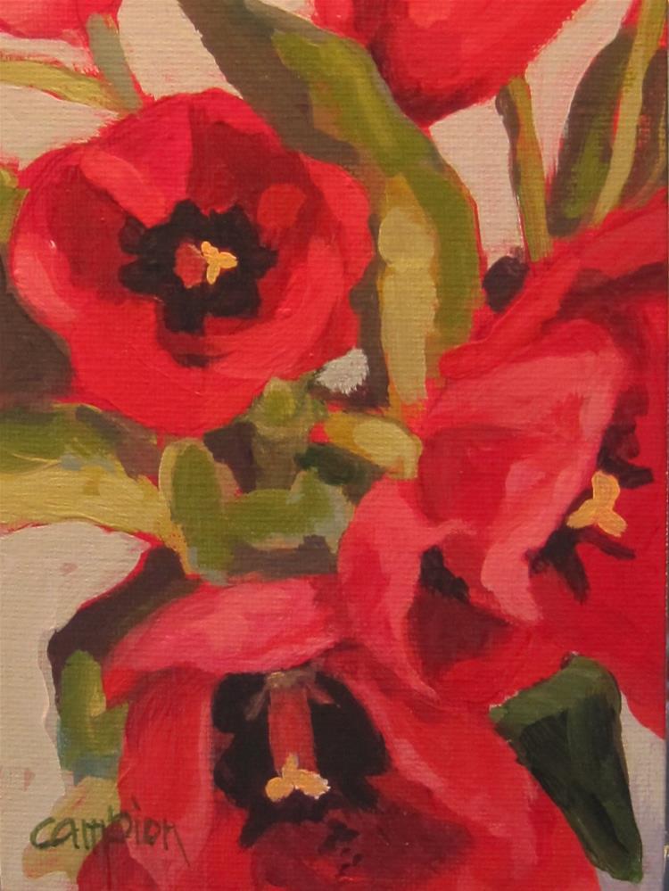 """""""Too Close"""" original fine art by Diane Campion"""