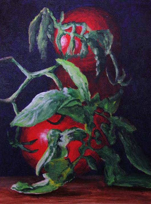"""On The Vine"" original fine art by Nan Johnson"