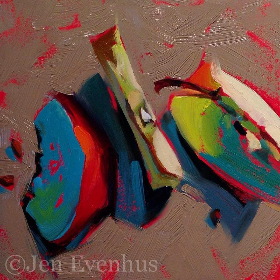"""Slice of LIfe"" original fine art by Jennifer Evenhus"