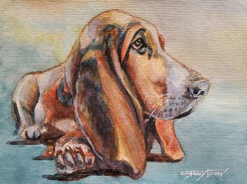 """Best Friend 3"" original fine art by Gabriella DeLamater"