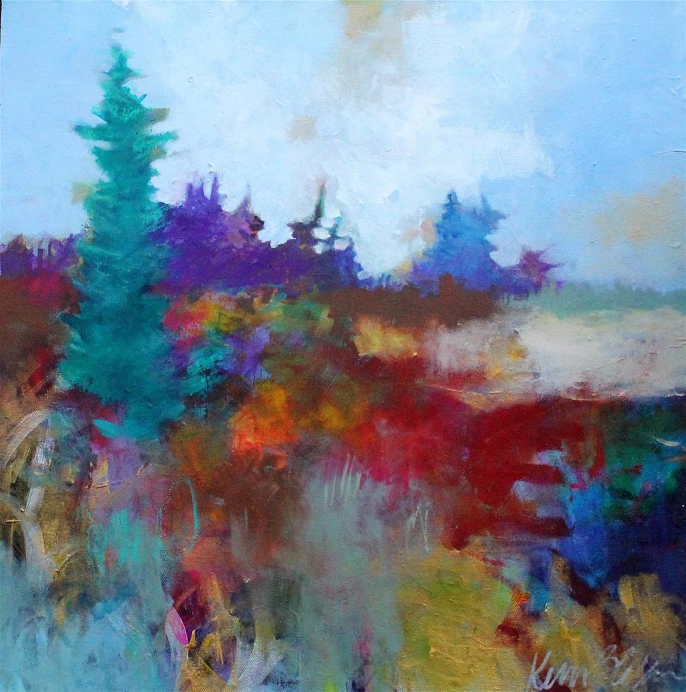 """Afternoon at the Clear Cut"" original fine art by Kerri Blackman"