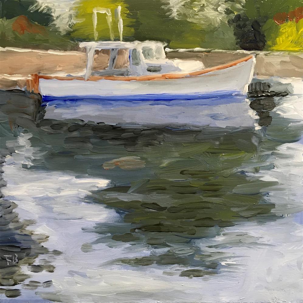 """""""119 Boat With No Name"""" original fine art by Fred Bell"""