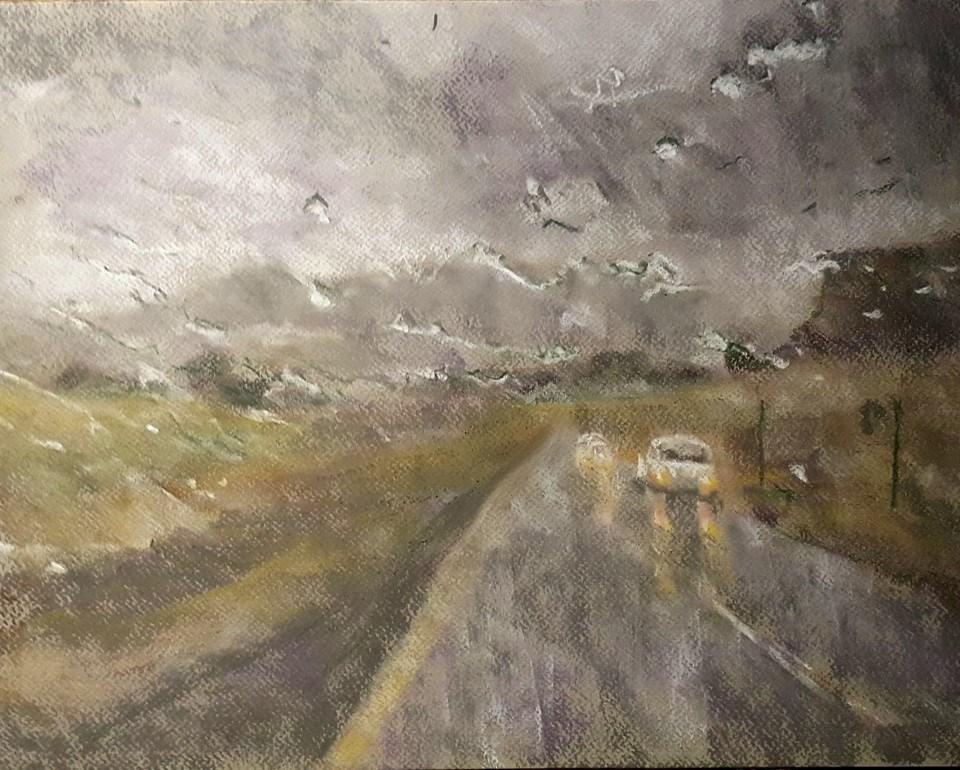 """Almost home"" original fine art by Rentia Coetzee"