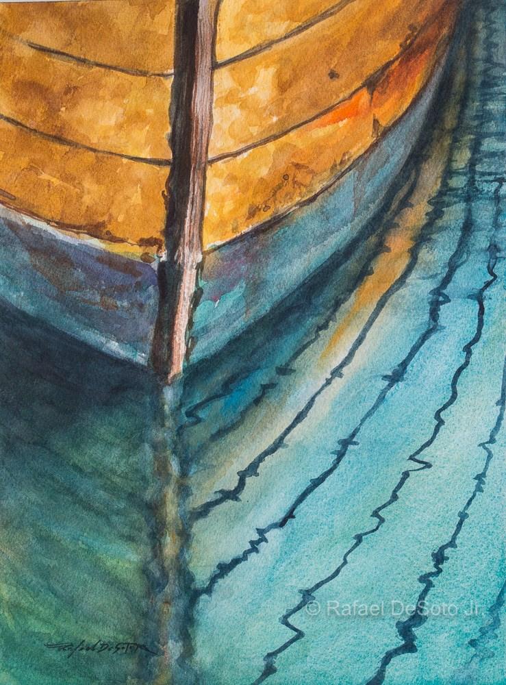 """""""Reflection"""" original fine art by Rafael DeSoto Jr."""