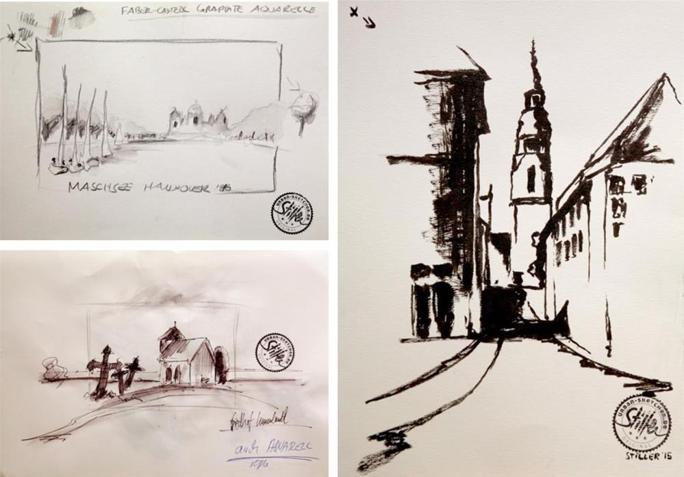 """1614 USK Workshop"" original fine art by Dietmar Stiller"