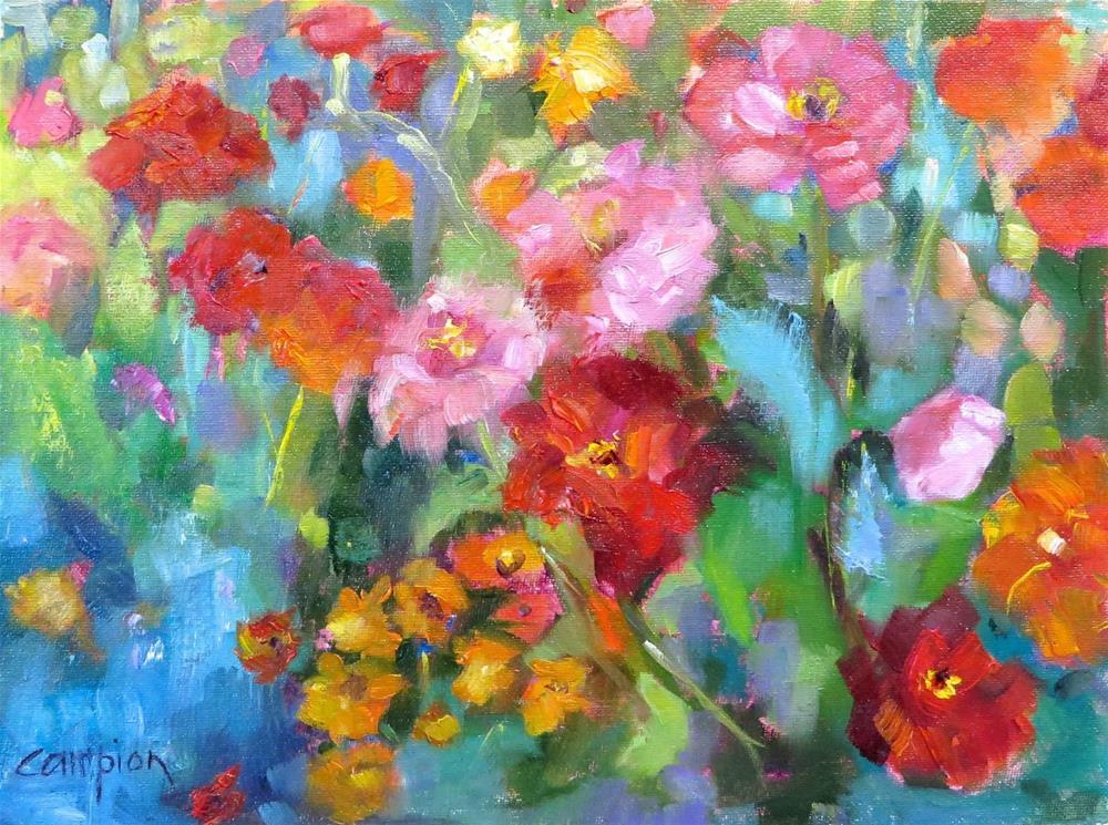 """""""804 Summer, Finally!"""" original fine art by Diane Campion"""