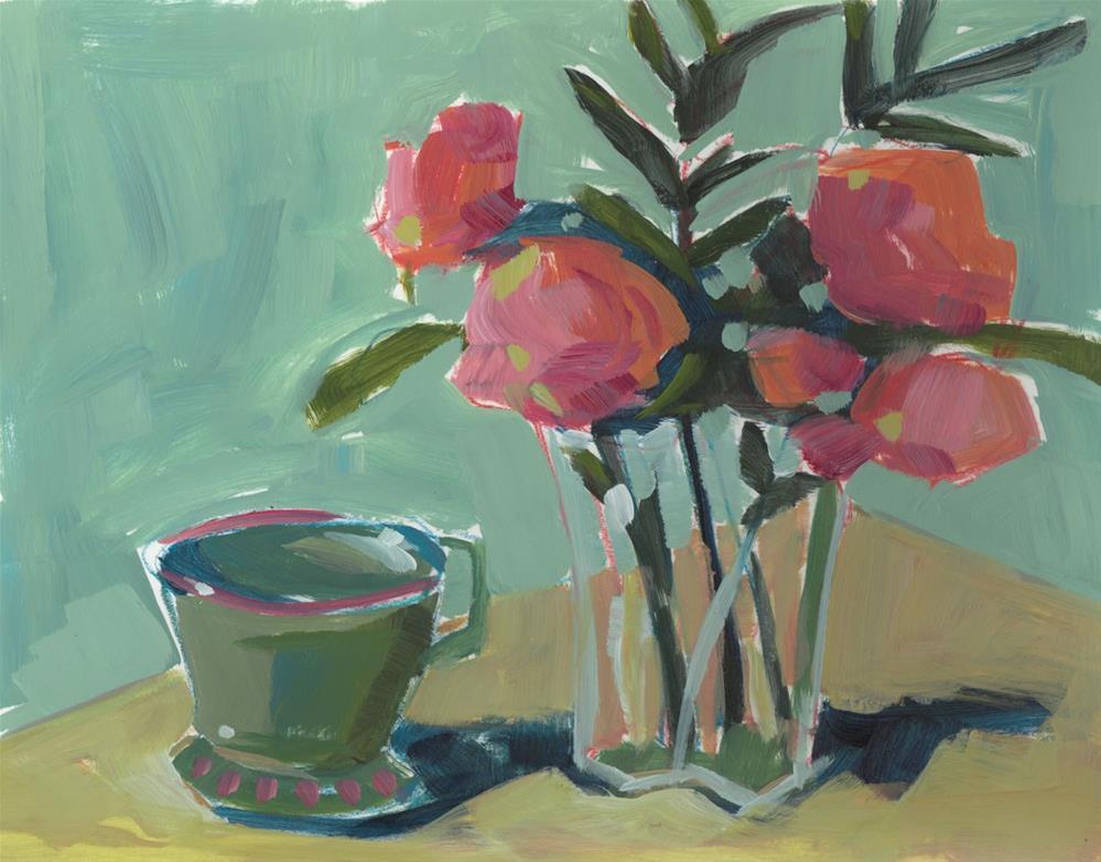 """0755: Study on Paper"" original fine art by Brian Miller"